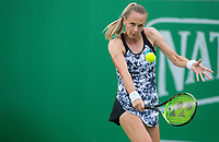 Magdalena Rybarikova in action<br /> <br /> Photographer Alex Dodd/CameraSport<br /> <br /> Tennis - WTA World Tour - Nature Valley Open Tennis Tournament - Day 3 - Wednesday 13th June 2018 - Nottingham Tennis Centre - Nottingham<br /> <br /> World Copyright &copy; 2018 CameraSport. All rights reserved. 43 Linden Ave. Countesthorpe. Leicester. England. LE8 5PG - Tel: +44 (0) 116 277 4147 - admin@camerasport.com - www.camerasport.com