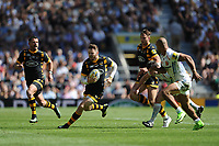 Elliot Daly of Wasps finds space during the Premiership Rugby Final at Twickenham Stadium on Saturday 27th May 2017 (Photo by Rob Munro)
