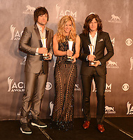 LAS VEGAS, NV - April 6: Vocal Group of the Year Award winner The Band Perry at the 49th Annual Academy of Country Music Awards Press Room at the MGM Grand on April 6, 2014 in Las Vegas, Nevada. © Kabik/ Starlitepics