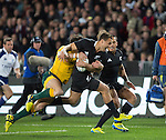 Israel Dagg. All Blacks beat Australia 22-0. Eden Park, Auckland. 25 August 2012. Photo: Marc Weakley