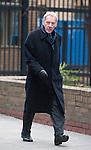 Harry Redknapp and Milan Mandaric tax evasion trial - juror considering verdicts today 8.2.12.Milan Mandaric arrives.....Pic by Gavin Rodgers/Pixel 8000 Ltd