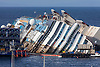 THE COSTA CONCORDIA<br /> was finally rolled over after a 19 hour operation that ended early this morning.<br /> It was the biggest salvage operation of a passenger liner.<br /> The 114,000-tonne ship ran aground 20 months on 13 January 2012 ago off the island of Giglio with the loss of 32 passengers, with two bodies still to be recovered.<br /> Mandatory Credit Photo: &copy;Folgoso-Sestini/NEWSPIX INTERNATIONAL<br /> <br /> **ALL FEES PAYABLE TO: &quot;NEWSPIX INTERNATIONAL&quot;**<br /> <br /> IMMEDIATE CONFIRMATION OF USAGE REQUIRED:<br /> Newspix International, 31 Chinnery Hill, Bishop's Stortford, ENGLAND CM23 3PS<br /> Tel:+441279 324672  ; Fax: +441279656877<br /> Mobile:  07775681153<br /> e-mail: info@newspixinternational.co.uk