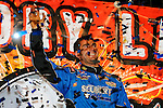 Nov 07, 2009; 10:17:56 PM; Concord, NC, USA; The third-annual World of Outlaws World Finals racing at The Dirt Track @ Lowe's Motor Speedway.  Mandatory Credit: (thesportswire.net)
