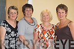 corporate lunch: Having a great evening at the Crokes Corporate Lunch for the Grand National on Saturday in The Ross Golf Club, Killarney, were l-r: Ena Moloney, Anne Cooney, Anne Wrenn and Bridie Neeson from Killarney..