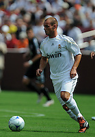 Real Madrid midfielder Wesley Sneijder (10). Real Madrid defeated DC United 3-0 at FedEx Field, Sunday August 9, 2009 in an International Friendly.