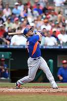 New York Mets third baseman David Wright (5) during a Spring Training game against the St. Louis Cardinals on April 2, 2015 at Roger Dean Stadium in Jupiter, Florida.  The game ended in a 0-0 tie.  (Mike Janes/Four Seam Images)