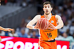 Valencia Basket's Guillem Vives during the first match of the Semi Finals of Liga Endesa Playoff at Barclaycard Center in Madrid. June 02. 2016. (ALTERPHOTOS/Borja B.Hojas)