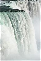 Cascading Niagara Falls.