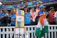 Indian fans at the Oval during India vs Australia, ICC World Cup Cricket at The Oval on 9th June 2019