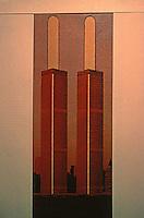 "Utopia:  World Trade Center--Popsicle Plaza. Mchael Langenstein, ""Trade-Offs"", NEW YORK MAGAZINE, July 21, 1975."
