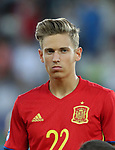 Spain's Marcos Llorente in action during the UEFA Under 21 Final at the Stadion Cracovia in Krakow. Picture date 30th June 2017. Picture credit should read: David Klein/Sportimage