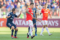 4th February 2020; National Stadium of Chile, Santiago, Chile; Libertadores Cup, Universidade de Chile versus Internacional; Walter Montillo of Universidad de Chile and Victor Cuesta of Internacional