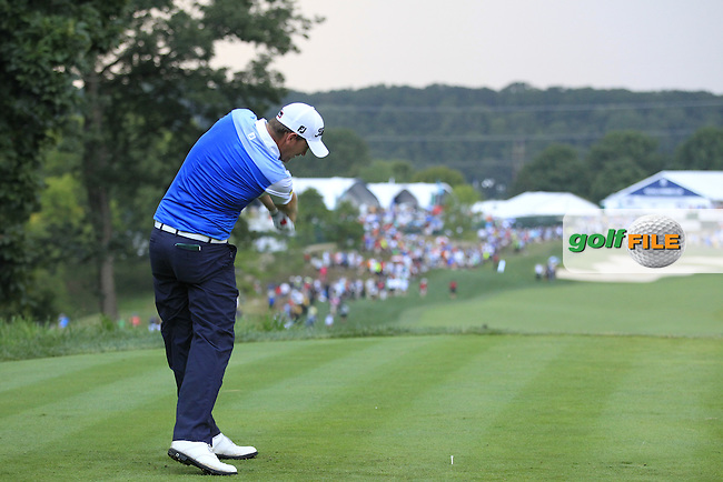 Bernd WIESBERGER (AUT) tees off the 18th tee during Sunday's Final Round of the 2014 PGA Championship held at the Valhalla Club, Louisville, Kentucky.: Picture Eoin Clarke, www.golffile.ie: 10th August 2014
