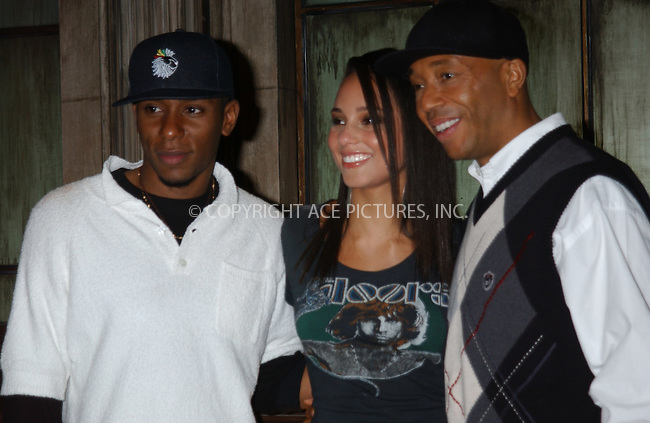 WWW.ACEPIXS.COM . . . . . ....NEW YORK, FEBRUARY 24, 2005....Mos Def, Alicia Keys and Russell Simmons at the taping of Def Poetry Jam held at the Supper ClubPlease byline: KRISTIN CALLAHAN - ACE PICTURES.. . . . . . ..Ace Pictures, Inc:  ..Philip Vaughan (646) 769-0430..e-mail: info@acepixs.com..web: http://www.acepixs.com