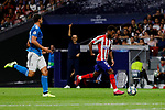 Thomas Lemar of Atletico de Madrid during UEFA Champions League match between Atletico de Madrid and Juventus at Wanda Metropolitano Stadium in Madrid, Spain. September 18, 2019. (ALTERPHOTOS/A. Perez Meca)