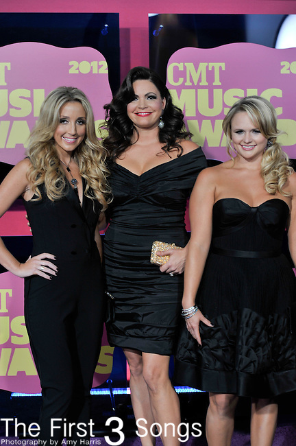The Pistol Annies attend the 11th Annual CMT Awards in Nashville, TN on June 6, 2012.