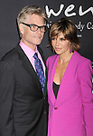 SANTA MONICA, CA- OCTOBER 18: Actors Harry Hamlin (L) and Lisa Rinna attend Elyse Walker presents the 10th anniversary Pink Party hosted by Jennifer Garner and Rachel Zoe at HANGAR 8 on October 18, 2014 in Santa Monica, California.