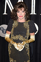 Dame Joan Collins<br /> arriving for the BFI Luminous Fundraising Gala 2017 at the Guildhall , London<br /> <br /> <br /> &copy;Ash Knotek  D3316  03/10/2017