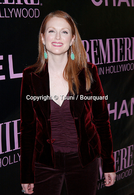 Julianne Moore arriving at the 9th Annual Premiere Women in Hollywood Luncheon at the Four Seasons Hotel in Los Angeles. October 16, 2002.           -            MooreJulianne245.jpg