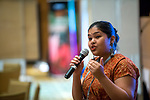 27 June, 2018, Kuala Lumpur, Malaysia : Pallavi Arggawal speaks at the Sexuality and Transgender programming seminar on the third day at the Girls Not Brides Global Meeting 2018 at the Kuala Lumpur Convention Centre. Picture by Graham Crouch/Girls Not Brides