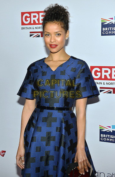 28 February 2014 - Los Angeles, California - Gugu Mbatha-Raw. GREAT British Film Reception to honor the British Oscar nominees, hosted by Consul General Chris O'Connor at the British Residence. <br /> CAP/ADM/CC<br /> &copy;CC/AdMedia/Capital Pictures