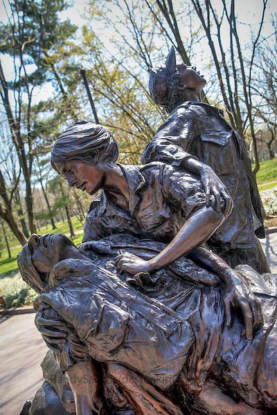 Nurse Memorial Vietnam Veterans Memorial Washington DC