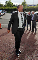 Pictured: Kristian O'Leary arrives Wednesday 20 May 2015<br /> Re: Swansea City FC Awards Dinner at the Liberty Stadium, south Wales, UK