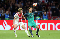 Dele Alli of Tottenham Hotspur during AFC Ajax vs Tottenham Hotspur, UEFA Champions League Football at the Johan Cruyff Arena on 8th May 2019
