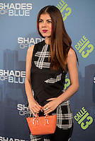 "Alba Messa attends to the premiere of the new series of chanel Calle 13, ""Shades of Blue"" at Callao Cinemas in Madrid. April 05, 2016. (ALTERPHOTOS/Borja B.Hojas) /NortePhoto.com"