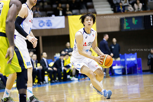 Kei Igarashi (Diamond Dolphins), <br /> FEBRUARY 14, 2015 - Basketball : <br /> National Basketball League &quot;NBL&quot; 2014-2015 <br /> between Hitachi Sunrockers Tokyo 97-88 Mitsubishi Electric Diamond Dolphins <br /> at 2nd Yoyogi Gymnasium, Tokyo, Japan. <br /> (Photo by AFLO SPORT) [1205]