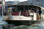ACTV Vaporetto on Canal Grande in Venice
