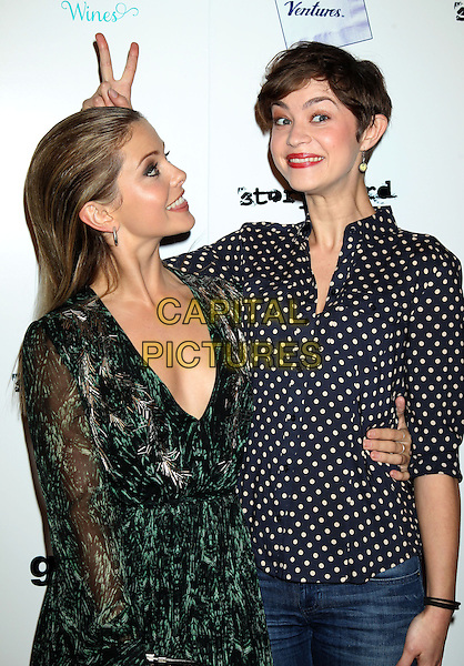 LOS ANGELES, CA - JANUARY 28: Rose Mclver, Elvy Yost at the premiere of 'Brightest Star' at the Sundance Cinema on January 28, 2014 in Los Angeles, California.<br /> CAP/ADM/RE<br /> &copy;Russ Elliot/AdMedia/Capital Pictures
