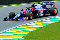 16th November 2019; Autodromo Jose Carlos Pace, Sao Paulo, Brazil; Formula One Brazil Grand Prix, Qualifying Day; Daniil Kvyat (RUS) Scuderia Toro Rosso STR14 - Editorial Use