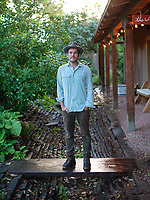 Musician and farmer Gregory Alan Isakov at his farm and house in Boulder, Colorado, Wednesday, September 15, 2016. <br /> <br /> Photo by Matt Nager