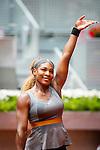 Caja Magica. Madrid. Spain. 07.05.2014. Mutua Madrid Open, Match beetwen Serena Williams vs Shuai Peng