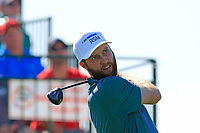 Chris Kirk (USA) tees off the 1st tee during Saturday's Round 3 of the Waste Management Phoenix Open 2018 held on the TPC Scottsdale Stadium Course, Scottsdale, Arizona, USA. 3rd February 2018.<br /> Picture: Eoin Clarke | Golffile<br /> <br /> <br /> All photos usage must carry mandatory copyright credit (&copy; Golffile | Eoin Clarke)