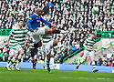 :: RANGERS' EL HADJI DIOUF CHIPS THE BALL TOWARDS GOAL ::