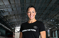 Sophie Pascoe. Swimming New Zealand Gold Coast Commonweath Games Team Announcement, Owen G Glenn National Aquatic Centre, Auckland, New Zealand,Friday 22 December 2017. Photo: Simon Watts/www.bwmedia.co.nz