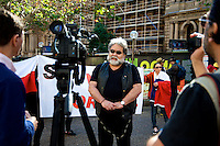 Chileans demand extradition of Pinochet agent, Sydney 21.06.14