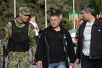 The self proclaimed mayor of Slavyansk, Vyacheslav Ponomaryov