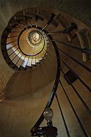 Europe/France/Aquitaine/33/Gironde/Pauillac: Château Pichon Longueville Comtesse de Lalande (AOC Pauillac) - Les escaliers en colimaçon du Château