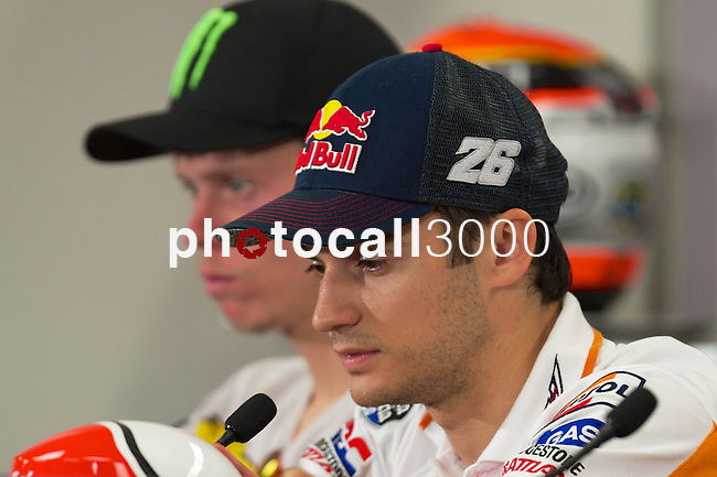 austin. tejas. USA. motociclismo<br /> GP in the circuit of the americas during the championship 2014<br /> 12-04-14<br /> En la imagen :<br /> Press conference<br /> dani pedrosa<br /> photocall3000 / rme