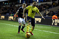 Craig Conway of Blackburn Rovers and Shane Ferguson of Millwall during Millwall vs Blackburn Rovers, Sky Bet EFL Championship Football at The Den on 12th January 2019