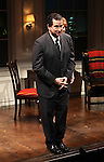 Anthony LaPaglia during the Curtain Call for the Opening Celebration of 'Checkers' at the Vineyard Theatre in New York City on 11/11/2012