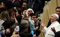 20150121 VATICANO: UDIENZA GENERALE DI PAPA FRANCESCO