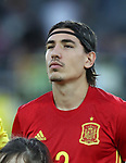 Spain's Hector Bellerin in action during the UEFA Under 21 Final at the Stadion Cracovia in Krakow. Picture date 30th June 2017. Picture credit should read: David Klein/Sportimage