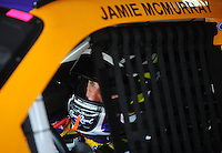 Apr 24, 2009; Talladega, AL, USA; NASCAR Sprint Cup Series driver Jamie McMurray during practice for the Aarons 499 at Talladega Superspeedway. Mandatory Credit: Mark J. Rebilas-