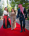 25.05.2015; Amman, Jordan: QUEEN RANIA, CROWN PRINCE HUSSEIN AND PRINCESS SALMA<br /> attended a ceremony to celebrate the 69th independence anniversary.<br /> Mandatory Photo Credit: &copy;Royal Hashemite Court/NEWSPIX INTERNATIONAL<br /> <br /> **ALL FEES PAYABLE TO: &quot;NEWSPIX INTERNATIONAL&quot;**<br /> <br /> PHOTO CREDIT MANDATORY!!: NEWSPIX INTERNATIONAL(Failure to credit will incur a surcharge of 100% of reproduction fees)<br /> <br /> IMMEDIATE CONFIRMATION OF USAGE REQUIRED:<br /> Newspix International, 31 Chinnery Hill, Bishop's Stortford, ENGLAND CM23 3PS<br /> Tel:+441279 324672  ; Fax: +441279656877<br /> Mobile:  0777568 1153<br /> e-mail: info@newspixinternational.co.uk