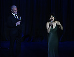 Patrick Page and Eva Noblezada performing at  the TCG Gala at the Edison Ballroom on February 4, 2019 in New York City.