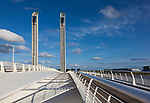 Jacques Chaban-Delmas bridge,  Bordeaux, Aquitaine,  France
